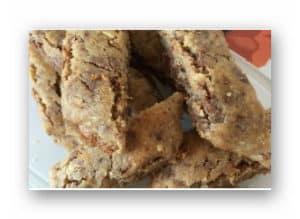 Kolakakor med mandel och choklad